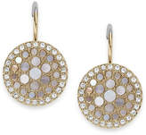 Fossil Vintage Glitz Crystal Drop Earrings