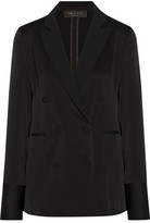 Rag & Bone Adler Satin Blazer - Black