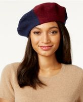 INC International Concepts Colorblock Beret, Only at Macy's