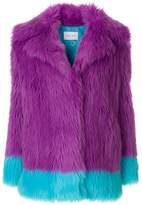 Alberta Ferretti two-tone jacket