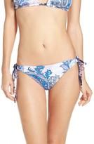 Tommy Bahama Women's Reversible Paisley Print Bikini Bottoms