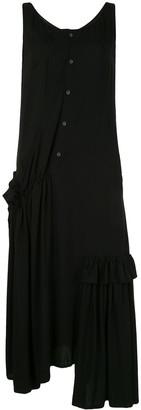 Yohji Yamamoto Asymmetric Draped Dress