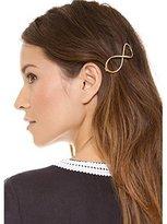 Sankuwen® Infinity Gold Barrette Hairpin Women Positive Clip Headband