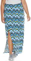 Soybu Plus Size Resort Maxi Skirt