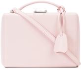 Mark Cross Small Pebbled Grace Box Bag - Light Pink