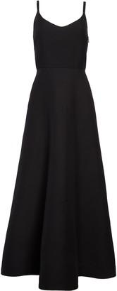 Valentino Wool & Silk Crepe Couture Midi Ballet Dress