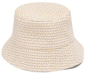 Ruslan Baginskiy Striped Bucket Hat - Beige