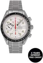 OMEGA Pre-Owned Speedmaster Reduced Date Mark 40 Silver Dial Stainless Steel Mens Watch 3513.33