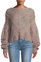 Rag & Bone Roman Chunky Marled-Knit Sweater