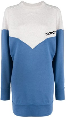 Etoile Isabel Marant Color-Block Sweater Dress