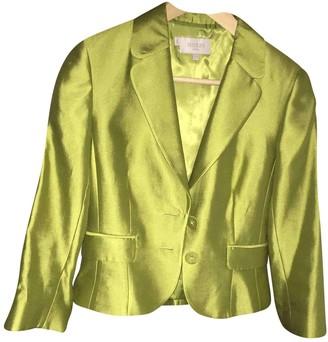 Hobbs Green Silk Jacket for Women