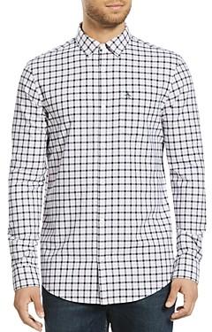 Original Penguin Tattersall Plaid Slim Fit Button-Down Shirt