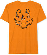 JEM Men's Carved Jack-O'-Lantern Pumpkin Halloween T-Shirt
