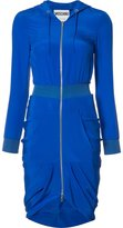Moschino hoodie dress - women - Silk - 38