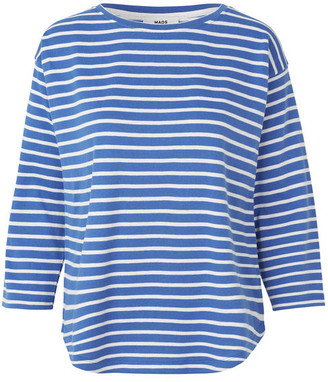 Mads Norgaard Bretagne Organic Thilke T Shirt - s