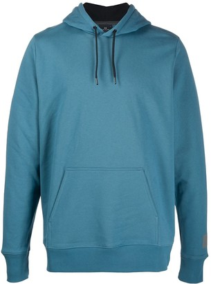 Paul Smith Logo-Print Drawstring Hoodie