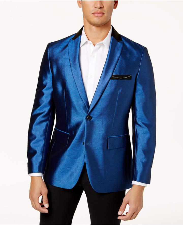 INC International Concepts I.N.C. Men's Shiny Blazer, Created for Macy's