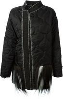 Liska - goat fur pocket padded coat - women - Goat Fur/Polyester - S