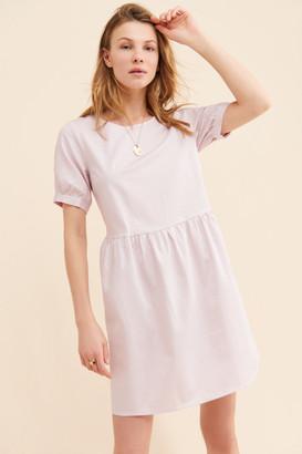 Ichi Lilac Babydoll Dress