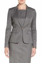 BOSS Women's 'Jaflink' Stretch Wool Blend Suit Jacket