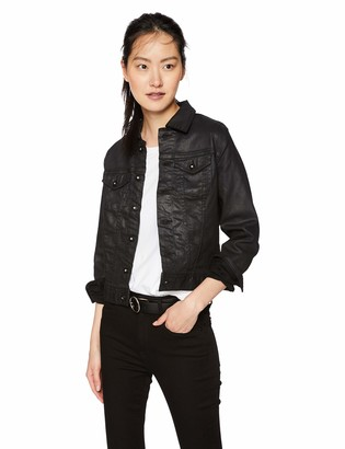 AG Jeans Women's Robyn Coated Denim Jacket
