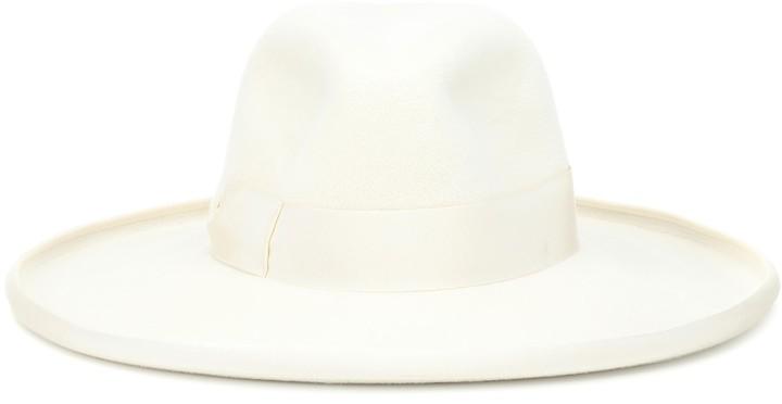 Gucci Wide-brimmed felt hat