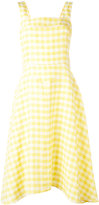 Paul Smith classic gingham dress - women - Linen/Flax/Acetate/Cupro/Viscose - 38