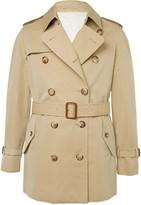 Alexander Mcqueen - Slim-fit Cotton-gabardine Trench Coat