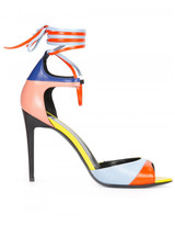 Pierre Hardy colour block stiletto sandals