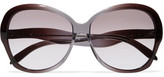 Victoria Beckham Happy Butterfly Square-frame Acetate Sunglasses - Purple