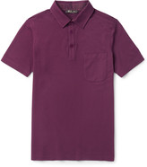 Loro Piana - Stretch-cotton Piqué Polo Shirt