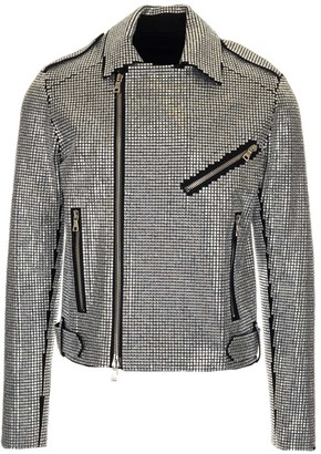 Balmain Embellished Biker Jacket