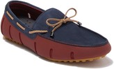 Swims Suede Braided Laced Lux Loafer