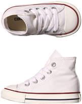 Converse Tots Chuck Taylor All Star Hi Shoe White