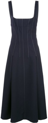 Dion Lee stitch detail corset dress