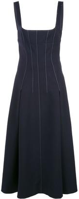Dion Lee Stitch Detail Corset Dress