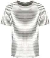 Samsøe & Samsøe Backbone Print Tshirt Light Gray