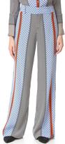 Derek Lam 10 Crosby Wide Leg Pajama Trousers
