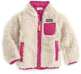 Patagonia Infant Girl's 'Retro-X' Jacket
