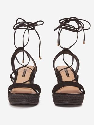 Dorothy Perkins Robyn Wedge Sandals - Black