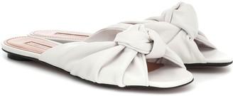 Samuele Failli Betsy leather slippers