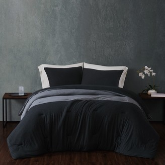 Sean John Color Block Cotton Jersey Comforter Set