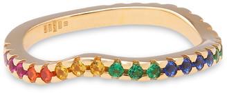 Cornelia Webb 24-karat Gold-plated Siamite Ring