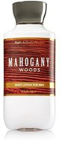 Bath & Body Works, Signature Collection Body Lotion, Mahogany Woods For Men, 8 Ounce