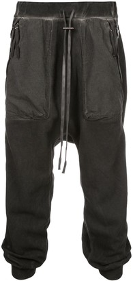 Boris Bidjan Saberi drop crotch sweatpants