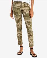 Levi's 711 Camo-Print Skinny Jeans