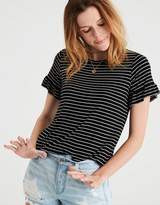 American Eagle Outfitters AE Soft & Sexy Ruffle Sleeve T-Shirt