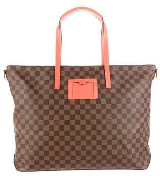 Louis Vuitton Damier Ebene Cabas Orange