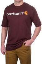 Carhartt Logo T-Shirt - Short Sleeve, Factory Seconds (For Big and Tall Men)