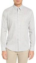 Theory Men's Sylvain Piran Trim Fit Check Sport Shirt